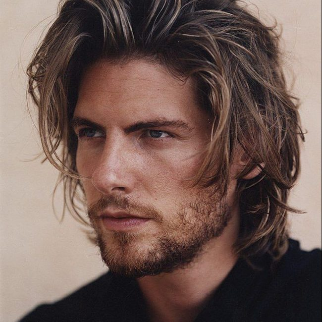 25 attractive chin length hair styles for men try new ideas 1 messy highlights pmusecretfo Choice Image
