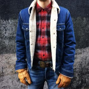 1 Vibrant Flannel Shirt With Jeans