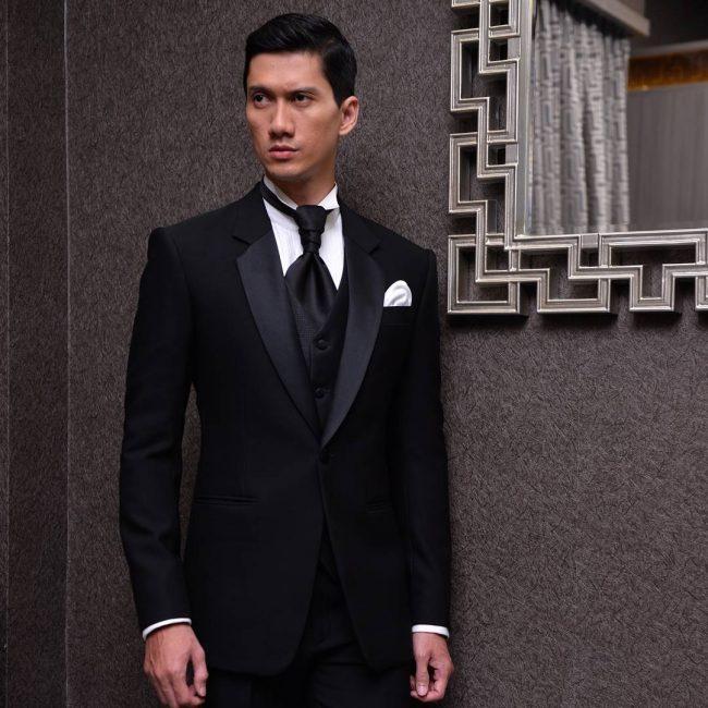 10 Black 3-Piece Tuxedo