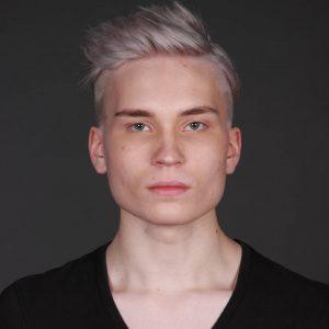 10 Blond Styled Undercut
