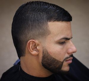 10 Classy Gelled and Shaped Up Cut