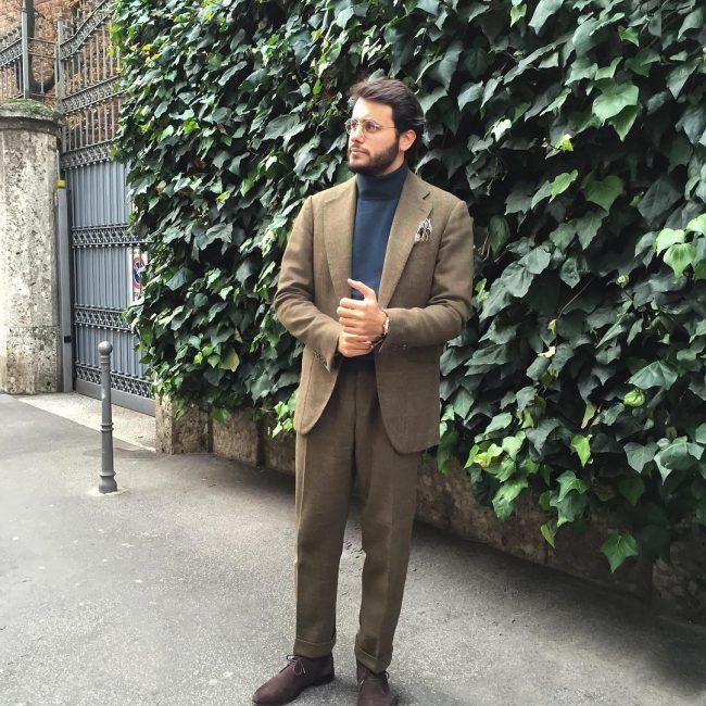 10 Jungle Green Tweed Suit10 Jungle Green Tweed Suit