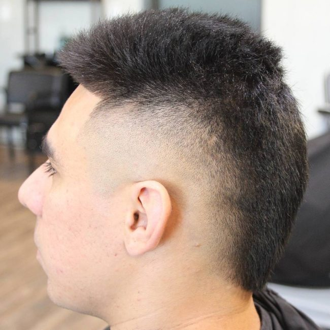 45 Magnificent Mohawk Fade Hairstyles The Upper Class Cuts