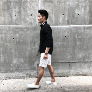 10 Oxford Shirt and Shorts Combo