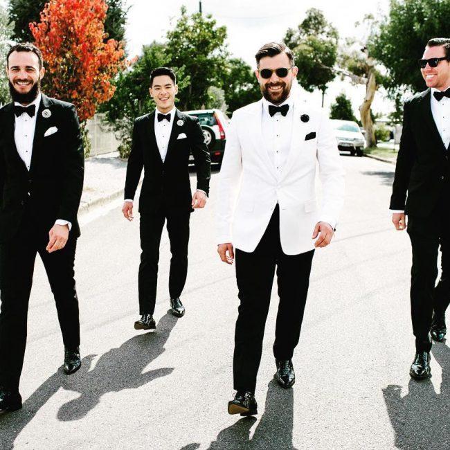 10 White Tuxedo