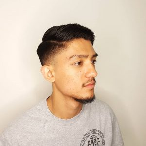 11 Back-Combed Contemporary Hairstyle
