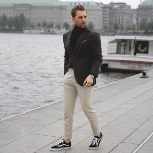 11 Classic Mix and Match Suit Look