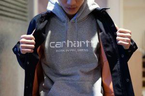 11 Hooded Script Sweat Carhartt Jacket