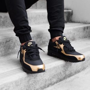 11 Metallic Gold and Black Combo