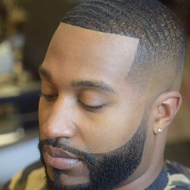 11 Textured Buzz with High Skin Fade