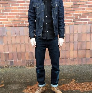 12 Black and Blue Selvedge