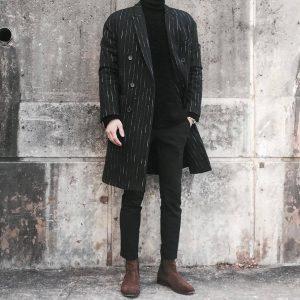 12-brown-suede-boot-designer-trench-coat
