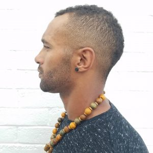 12 Fade To Mohawk Transition