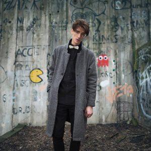 12 Gray Coat Over Black