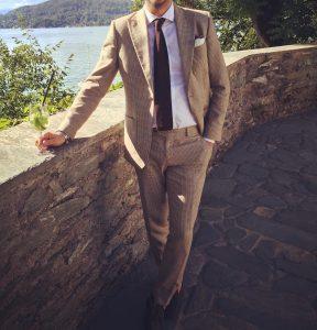 12 Light Brown Suit