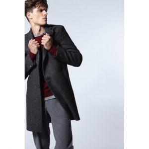 12 Long Dark Grey Coat & Grey Pants