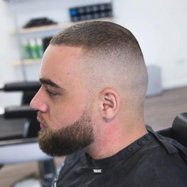12 The Bald Fade