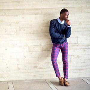 13 Colored Plaid Pants