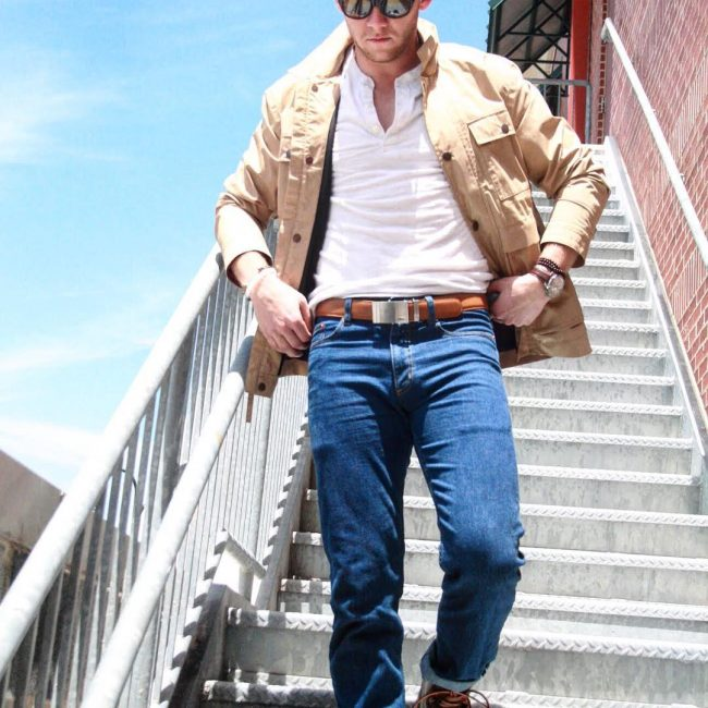 13 Cool Friday Look With No-Hole Belt