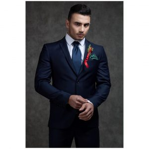 13 Fitting Navy Blue Suit