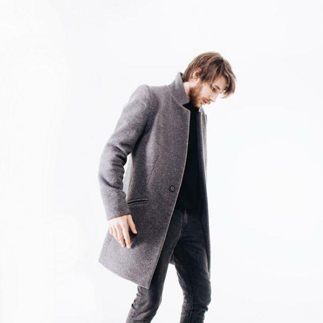 13 Grey Long Coat & Grey Trousers