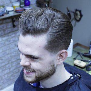 13 Inventively Parted Taper Cut