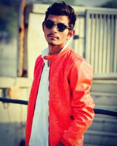 13 Leather Jacket with Shirt