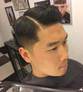 13-sleek-hard-part-haircut