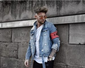 14 Denim Bomber