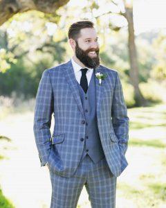 14 Pale Blue 3-Piece Suit