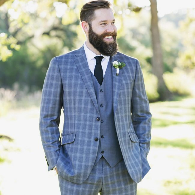 14 Pale Blue 3-Piece Suit