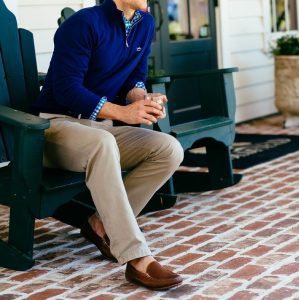 14-royal-blue-pullover-brown-trousers