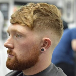 14 Skin Fade with Textured Top