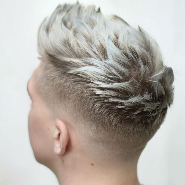 14 Spiked Blonde Hair