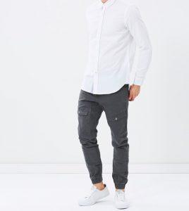 14 Straight Narrow Collar Shirt