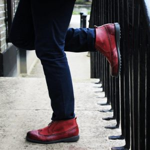 14 Try Burgundy Boots