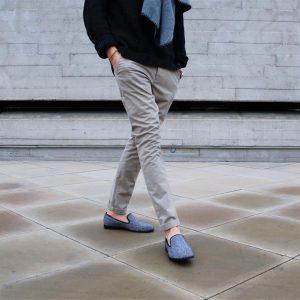 14 Tweed Loafers in Formal Look