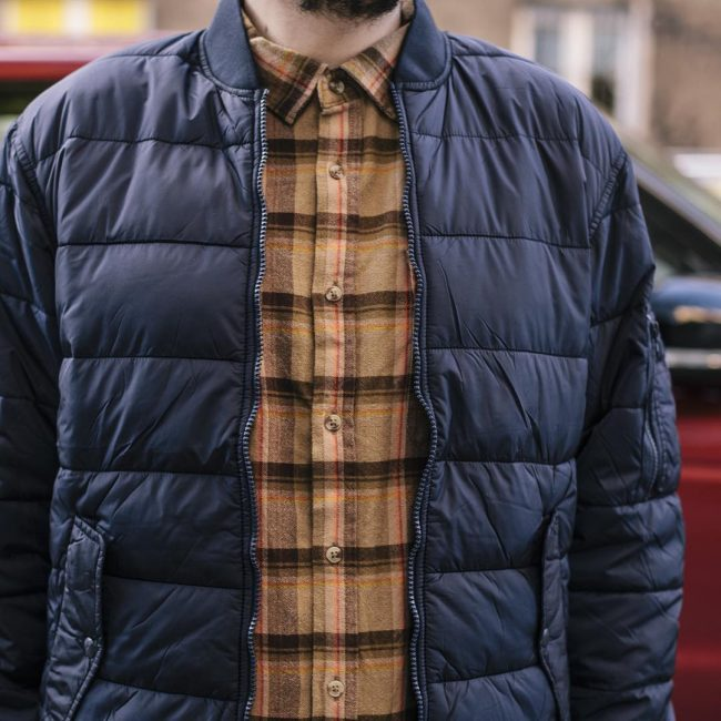 15 Brown Check Flannel Shirt