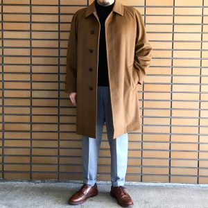 15 Brown Leather Shoes & Long Brown Coat