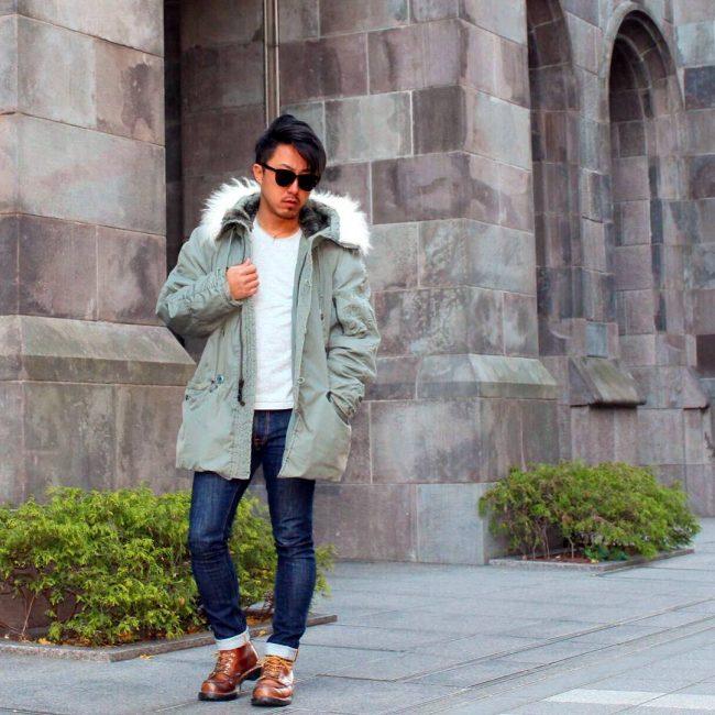 15 Dry Slim Fit Jeans & Winter Coat