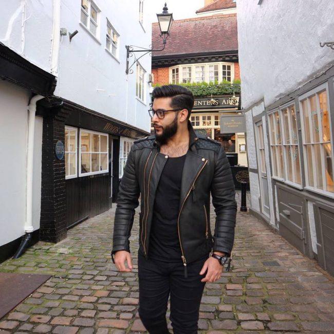 15 Leather Varsity Jacket