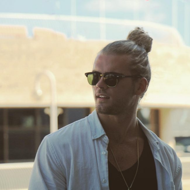 15 Sunglasses and Beach Bun