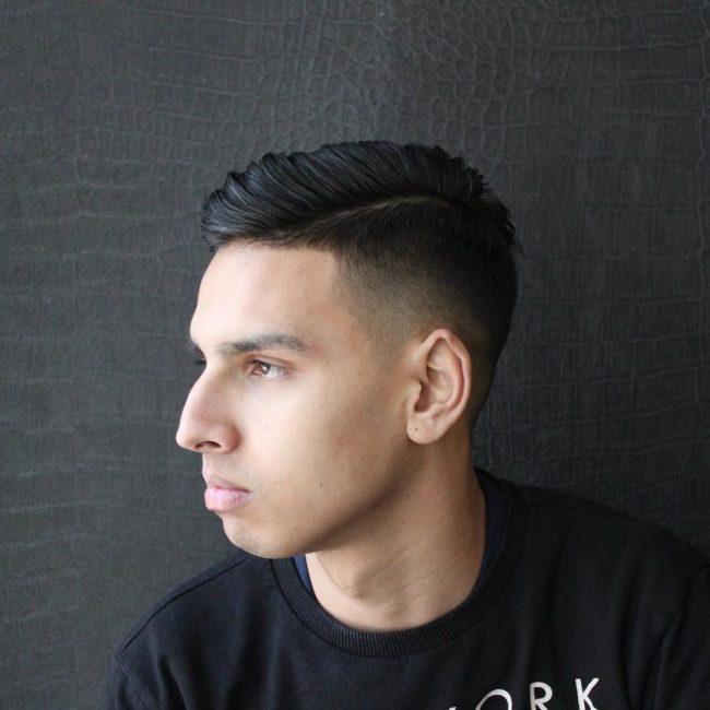 16 Black Gradient Hairstyle