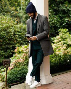 16 Green Designer Suit & Canvas