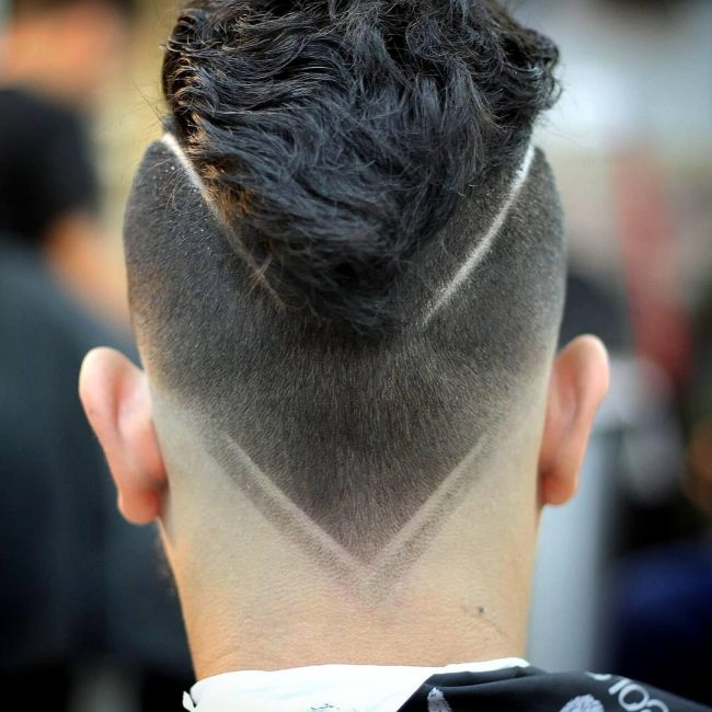 40 First Class V,Cut Hairstyles \u2013 Creativity Redefined