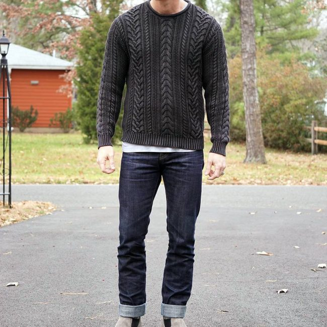 16 Sweater and Selvedge Combination