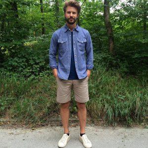 17 Basic Shorts and T-Shirt Combination