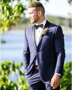 17 Navy Blue Tuxedo
