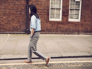 17 Relaxed Denim Shirt And Chinos