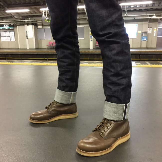 18 Dark Brown Boots & Slim Fit Black or Jeans